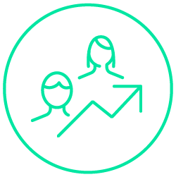 Green people icon