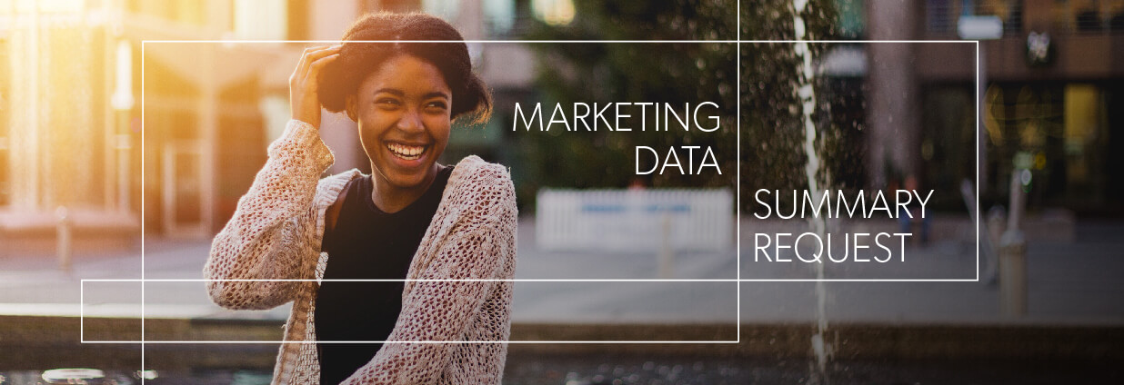 Marketing Data Summary Request