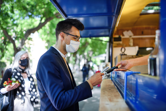How financial service brands can go contactless to build loyalty & trust